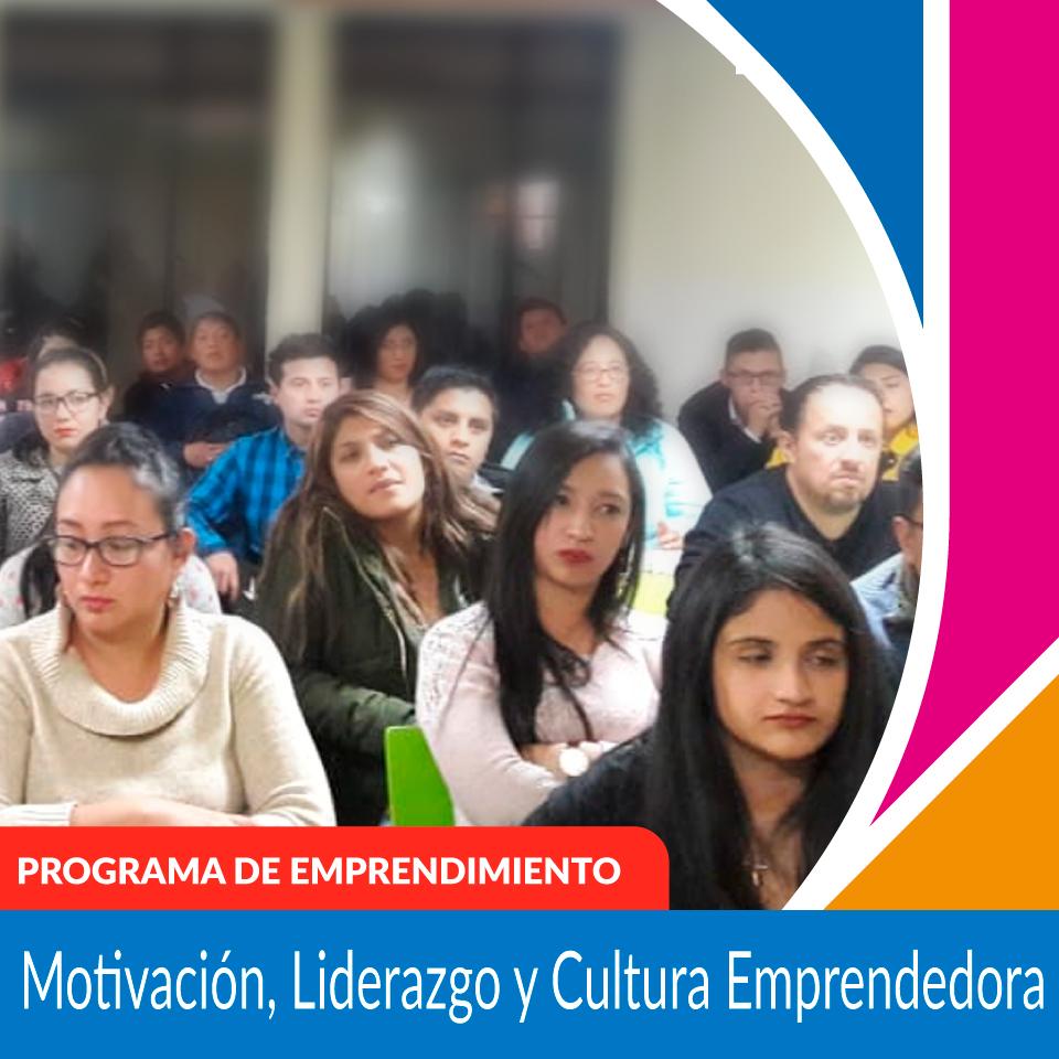 N01 Cultura Emprendedora, Motivación y Liderazgo